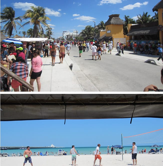 Beach in Progreso