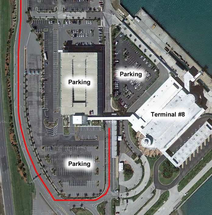 map port canaveral cruise terminal Port Canaveral Port Overview Parking Terminals And Maps map port canaveral cruise terminal