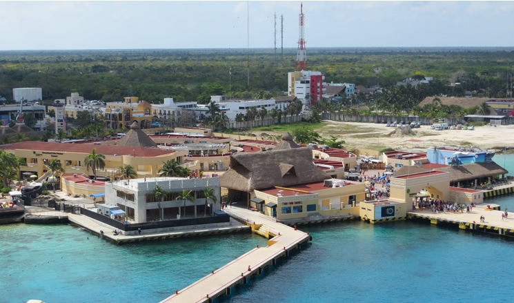 International Pier in Cozumel
