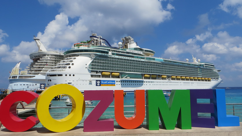 Liberty of the Seas in Cozumel