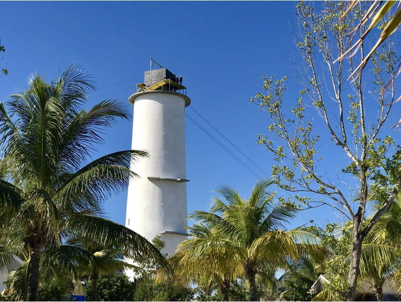 Lighthouse on Great Stirrup Cay