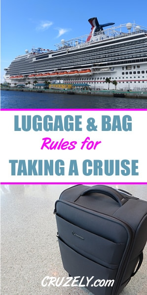 Luggage And Baggage Rules For Taking A Cruise Cruzely Com