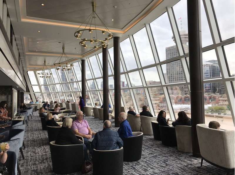 Norwegian Joy Observation Lounge