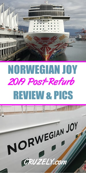 Norwegian Joy: 2019 Review and Photos After Refurbishment
